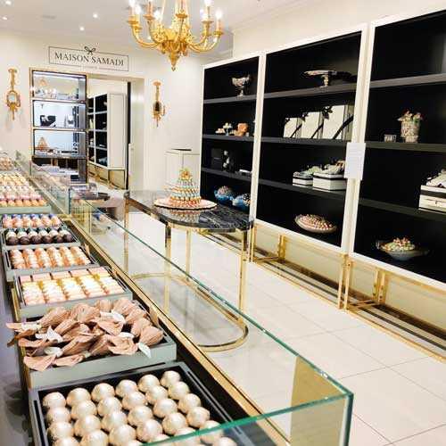 Maison Samadi interior shop view